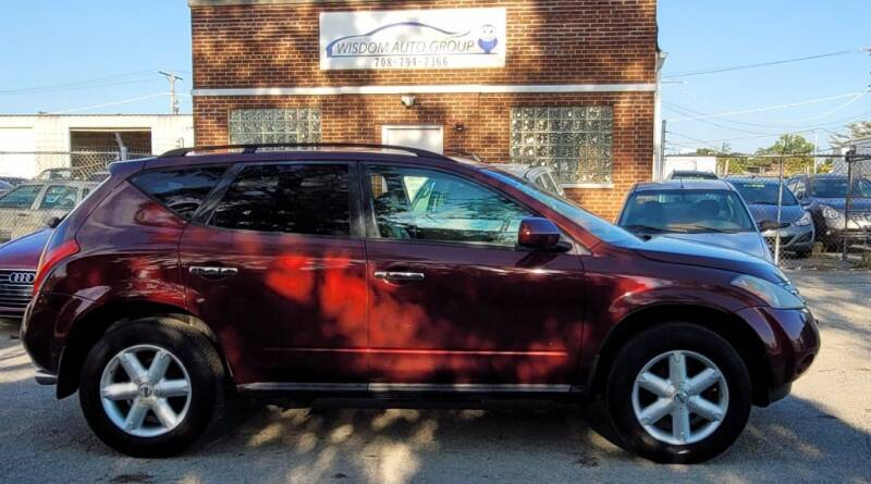 2005 Nissan Murano for sale at Wisdom Auto Group in Calumet Park IL