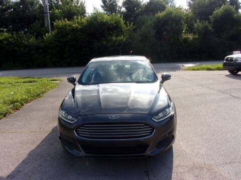 2016 Ford Fusion for sale at Auto Sales Sheila, Inc in Louisville KY
