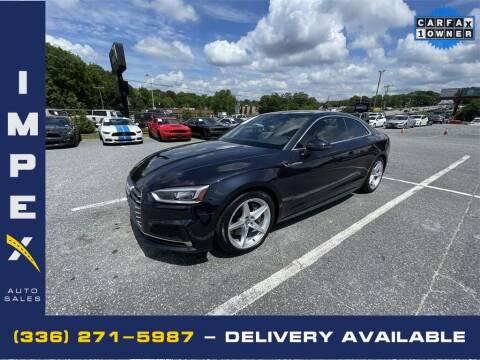 2018 Audi A5 for sale at Impex Auto Sales in Greensboro NC