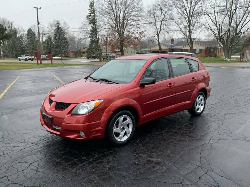 2004 Pontiac Vibe for sale at Dittmar Auto Dealer LLC in Dayton OH