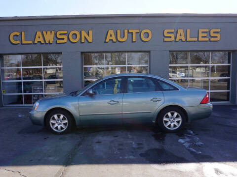 2006 Ford Five Hundred for sale at Clawson Auto Sales in Clawson MI