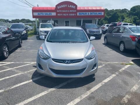 2011 Hyundai Elantra for sale at Sandy Lane Auto Sales and Repair in Warwick RI