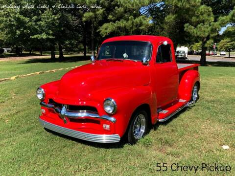 1955 Chevrolet c15 for sale at MIDWAY AUTO SALES & CLASSIC CARS INC in Fort Smith AR