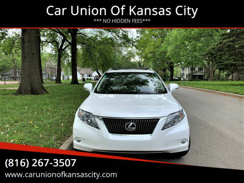 2011 Lexus RX 350 for sale at Car Union Of Kansas City in Kansas City MO