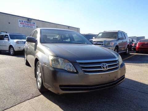 2005 Toyota Avalon for sale at ACH AutoHaus in Dallas TX