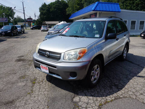 2005 Toyota RAV4 for sale at Colonial Motors in Mine Hill NJ