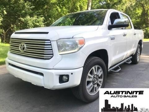 2015 Toyota Tundra for sale at Austinite Auto Sales in Austin TX