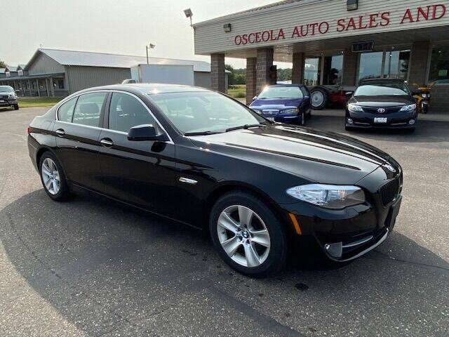 2011 BMW 5 Series for sale at Osceola Auto Sales and Service in Osceola WI