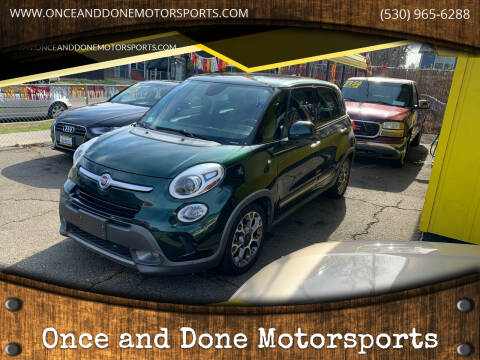 2014 FIAT 500L for sale at Once and Done Motorsports in Chico CA
