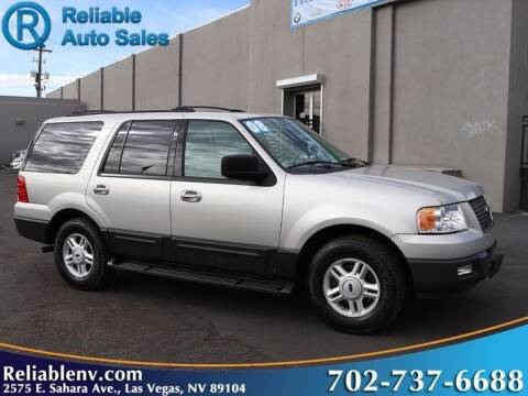 2004 Ford Expedition for sale at Reliable Auto Sales in Las Vegas NV