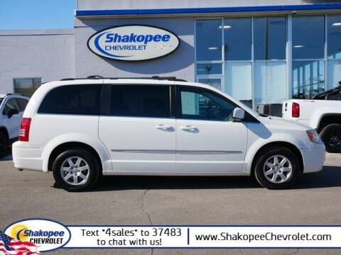 2010 Chrysler Town and Country for sale at SHAKOPEE CHEVROLET in Shakopee MN