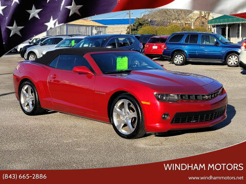 2014 Chevrolet Camaro for sale at Windham Motors in Florence SC