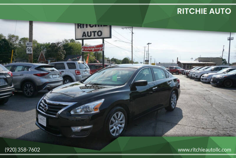 2013 Nissan Altima for sale at Ritchie Auto in Appleton WI