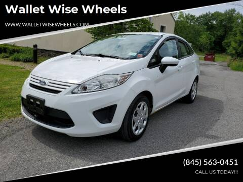 2012 Ford Fiesta for sale at Wallet Wise Wheels in Montgomery NY