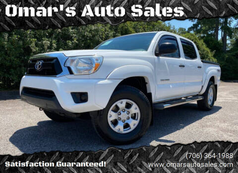 2013 Toyota Tacoma for sale at Omar's Auto Sales in Martinez GA