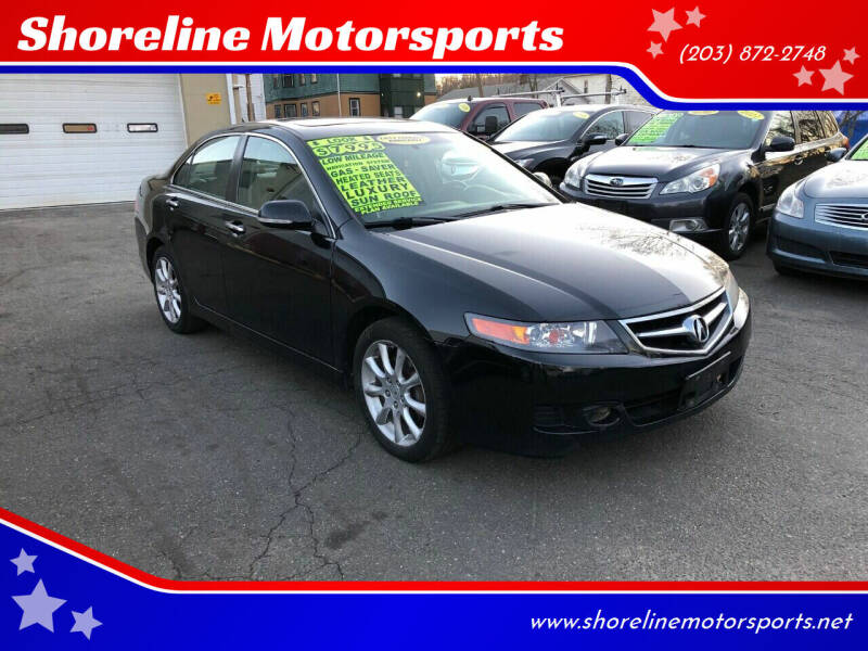 2007 Acura TSX for sale at Shoreline Motorsports in Waterbury CT