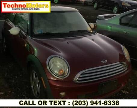 2007 MINI Cooper for sale at Techno Motors in Danbury CT