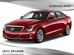 2014 Cadillac ATS for sale at GOWHEELMART in Leesville LA