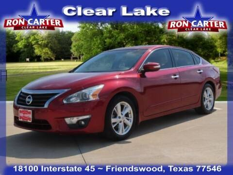 2015 Nissan Altima for sale at Ron Carter  Clear Lake Used Cars in Houston TX