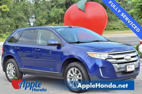2014 Ford Edge for sale at APPLE HONDA in Riverhead NY