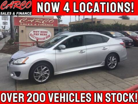 2015 Nissan Sentra for sale at CARCO SALES & FINANCE #3 in Chula Vista CA