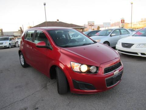 2012 Chevrolet Sonic for sale at Crown Auto in South Salt Lake City UT