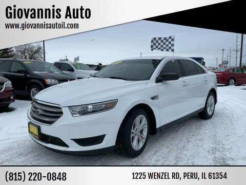2018 Ford Taurus for sale at Giovannis Auto in Peru IL