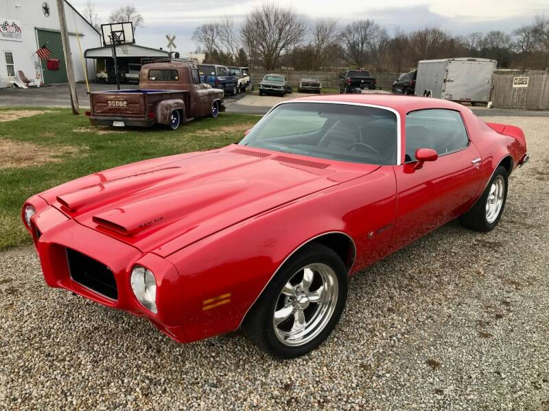 1973 Pontiac Firebird for sale at 500 CLASSIC AUTO SALES in Knightstown IN