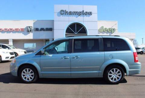 2010 Chrysler Town and Country for sale at Champion Chevrolet in Athens AL