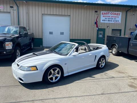 2000 Ford Mustang for sale at East Coast Motor Sports in West Warwick RI