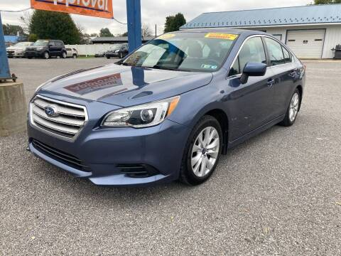 2015 Subaru Legacy for sale at Corry Pre Owned Auto Sales in Corry PA