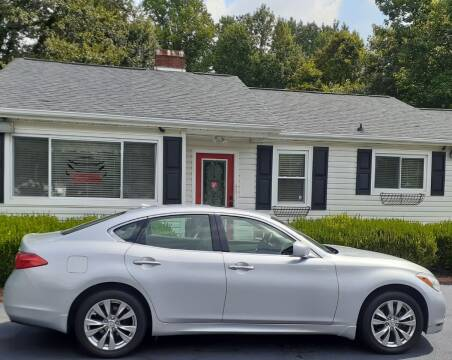 2012 Infiniti M37 for sale at SIGNATURES AUTOMOTIVE GROUP LLC in Spartanburg SC