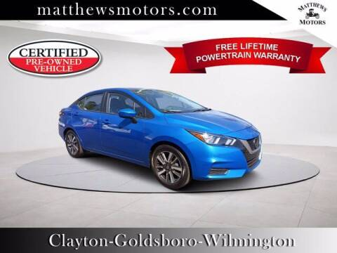 2021 Nissan Versa for sale at Auto Finance of Raleigh in Raleigh NC