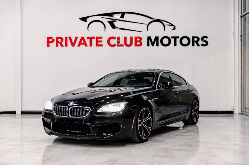 2019 BMW M6 for sale at Private Club Motors in Houston TX