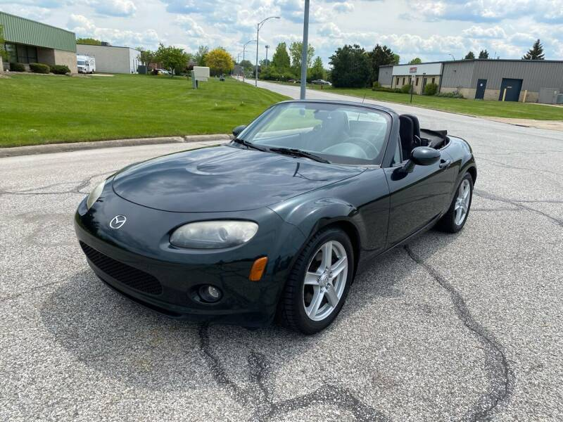 2007 Mazda MX-5 Miata for sale at JE Autoworks LLC in Willoughby OH