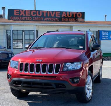 2014 Jeep Compass for sale at Executive Auto in Winchester VA