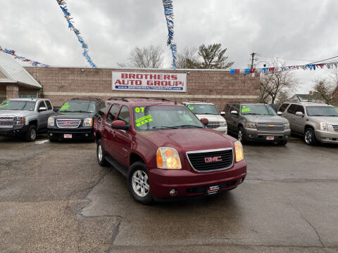 2007 GMC Yukon for sale at Brothers Auto Group in Youngstown OH