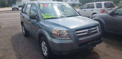 2007 Honda Pilot for sale at TC Auto Repair and Sales Inc in Abington MA