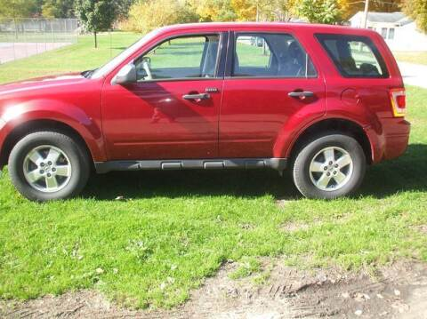 2010 Ford Escape for sale at FOUR SEASONS MOTORS in Plainview MN