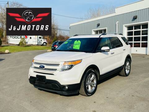 2013 Ford Explorer for sale at J & J MOTORS in New Milford CT