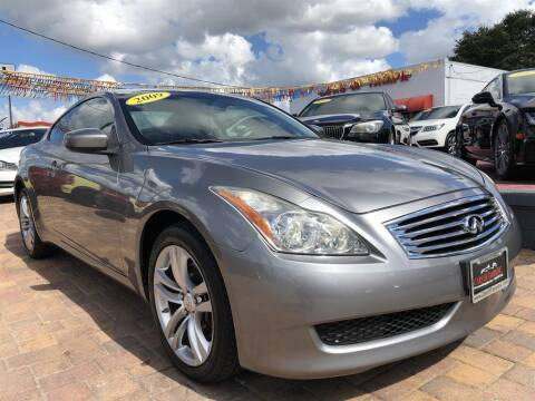 2009 Infiniti G37 Coupe for sale at Cars of Tampa in Tampa FL