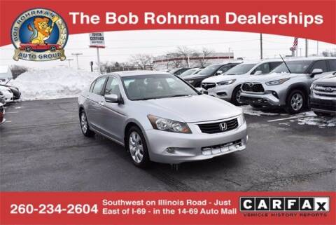 2008 Honda Accord for sale at BOB ROHRMAN FORT WAYNE TOYOTA in Fort Wayne IN