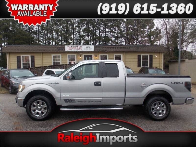 2012 Ford F-150 for sale at Raleigh Imports in Raleigh NC