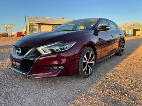 2016 Nissan Maxima for sale at Northern Car Brokers in Belle Fourche SD