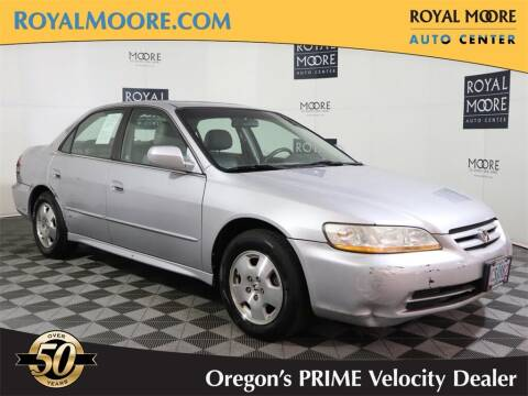 2001 Honda Accord for sale at Royal Moore Custom Finance in Hillsboro OR