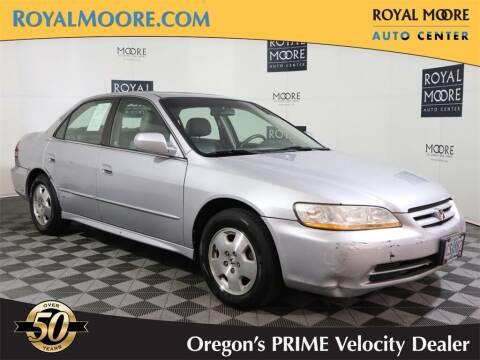 2001 Honda Accord for sale at Royal Moore Custom Finance in Hillsboro OR