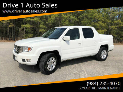 2012 Honda Ridgeline for sale at Drive 1 Auto Sales in Wake Forest NC
