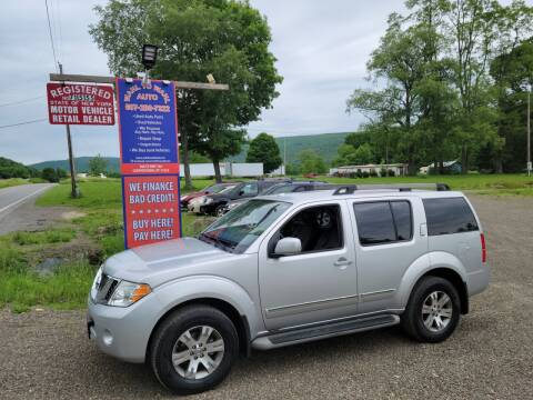 2011 Nissan Pathfinder for sale at Wahl to Wahl Auto Parts in Cooperstown NY