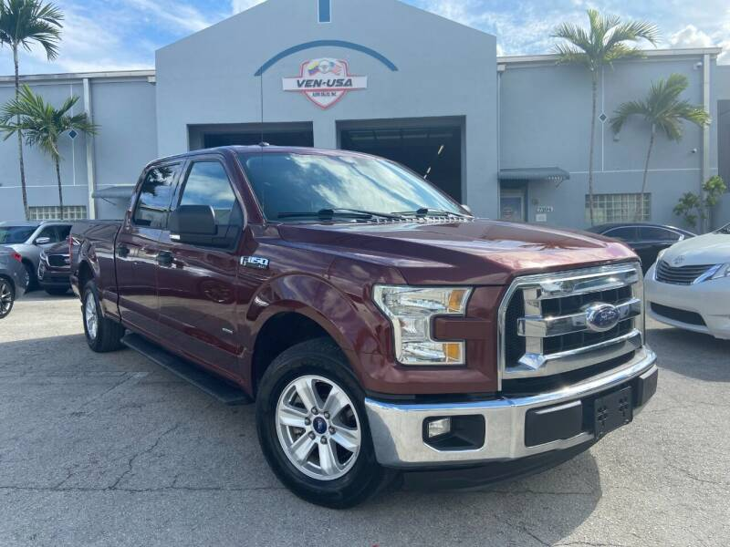 2016 Ford F-150 for sale at Ven-Usa Autosales Inc in Miami FL