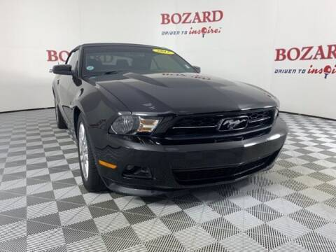 2012 Ford Mustang for sale at BOZARD FORD in Saint Augustine FL